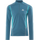 Mountain Equipment Ignis LS Zip Tee Men Legion Blue/Tasman